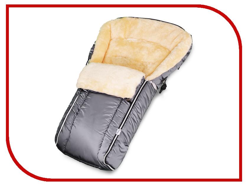 Конверт в коляску Esspero Lukas (натуральная шерсть) Grey RV51247-108058184 конверт в коляску esspero maris plus red
