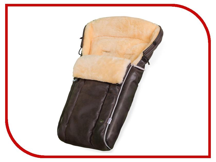 Конверт в коляску Esspero Lukas Lux (натуральная шерсть) Brown RV5124710-108063566 матрас универсальный в коляску esspero baby cotton linear 108068282