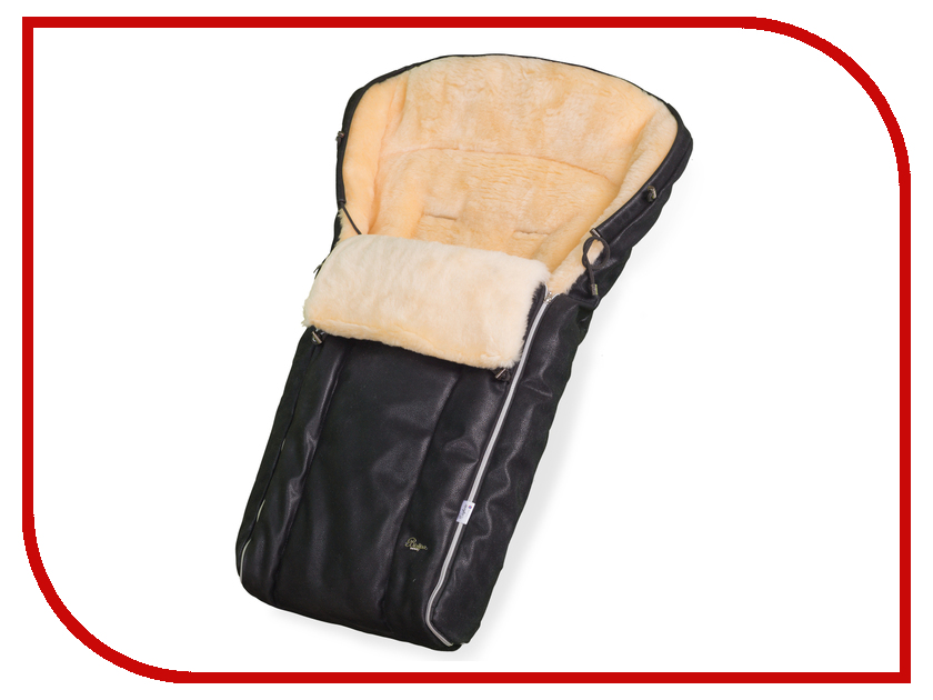 Конверт в коляску Esspero Lukas Lux (натуральная шерсть) Black RV5124710-108063567 матрас универсальный в коляску esspero baby cotton linear 108068282