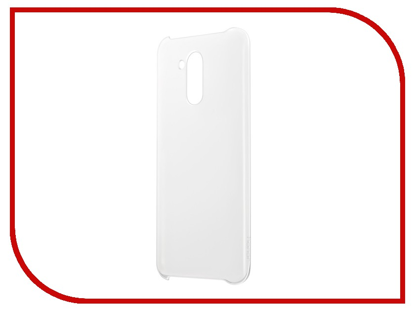 Аксессуар Чехол Huawei Honor 6A PC Case Transparent 51992017 moskii brand ultra thin pc shield case cover for huawei honor 3c play