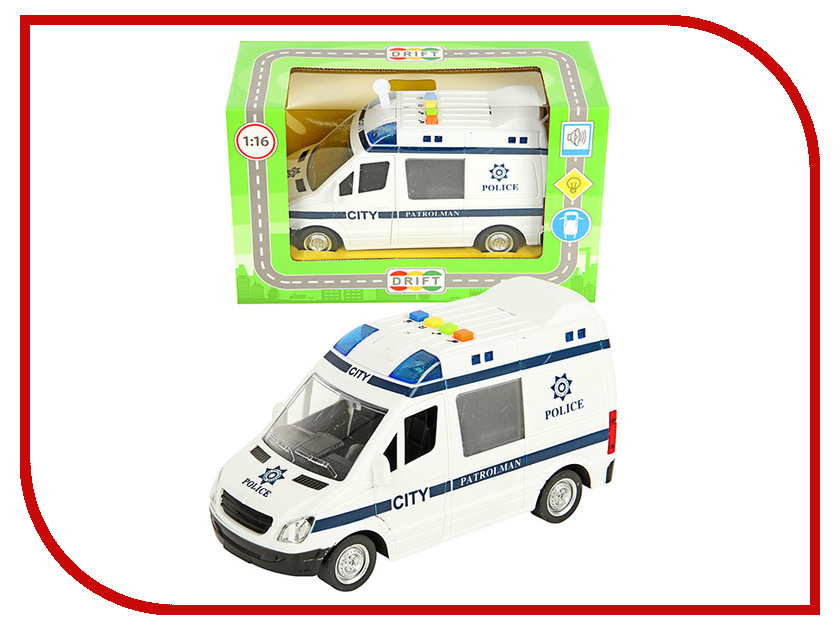 Игрушка Drift Полиция 57247 drift машина фрикционная