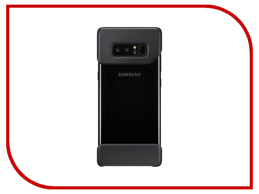 Аксессуар Чехол Samsung Galaxy Note 8 2Piece Cover Great Black EF-MN950CBEGRU бампер samsung 2piece cover great для samsung galaxy note 8 темно синий [ef mn950cnegru]