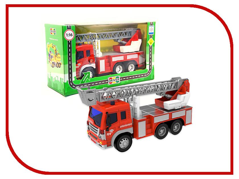 Машина Drift Пожарная машина 57249 машина pioner пожарная техника 102f 24