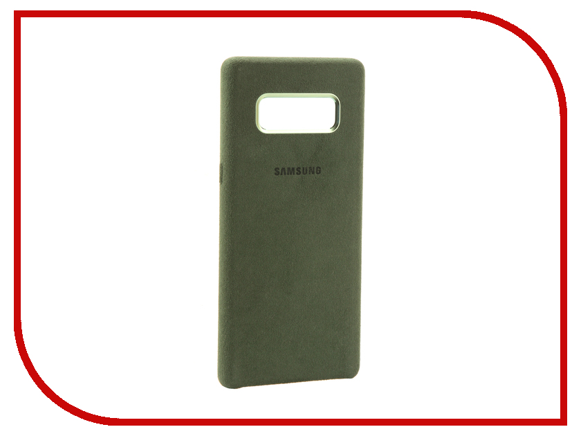 Аксессуар Чехол Samsung Galaxy Note 8 Alcantara Cover Great Khaki EF-XN950AKEGRU чехол клип кейс samsung alcantara cover great для samsung galaxy note 8 хаки [ef xn950akegru]