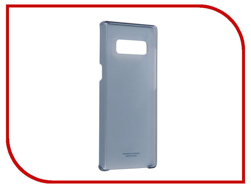 Аксессуар Чехол Samsung Galaxy Note 8 Clear Cover Great Dark Blue EF-QN950CNEGRU ef mg955cmegru samsung