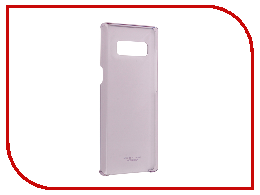 Аксессуар Чехол Samsung Galaxy Note 8 Clear Cover Great Purple EF-QN950CVEGRU ef mg955cmegru samsung