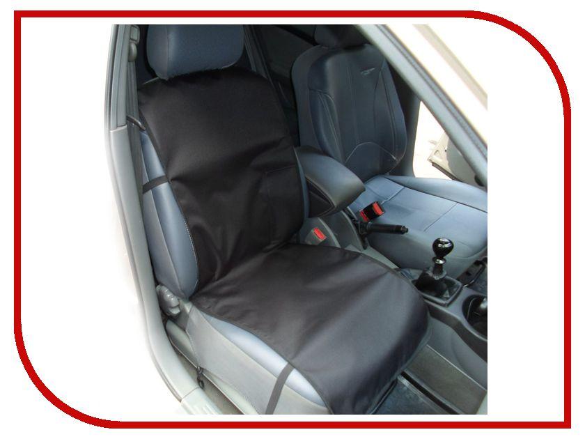 Органайзер AvtoPoryadok Накидка переднее сиденье с карманом Black S17312Bl