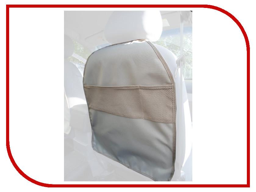 AvtoPoryadok Защитная накидка на спинку переднего сиденья Beige S17317Be