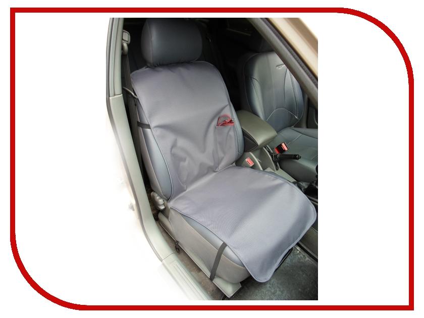Органайзер AvtoPoryadok Накидка переднее сиденье с карманом Grey S17313Gr