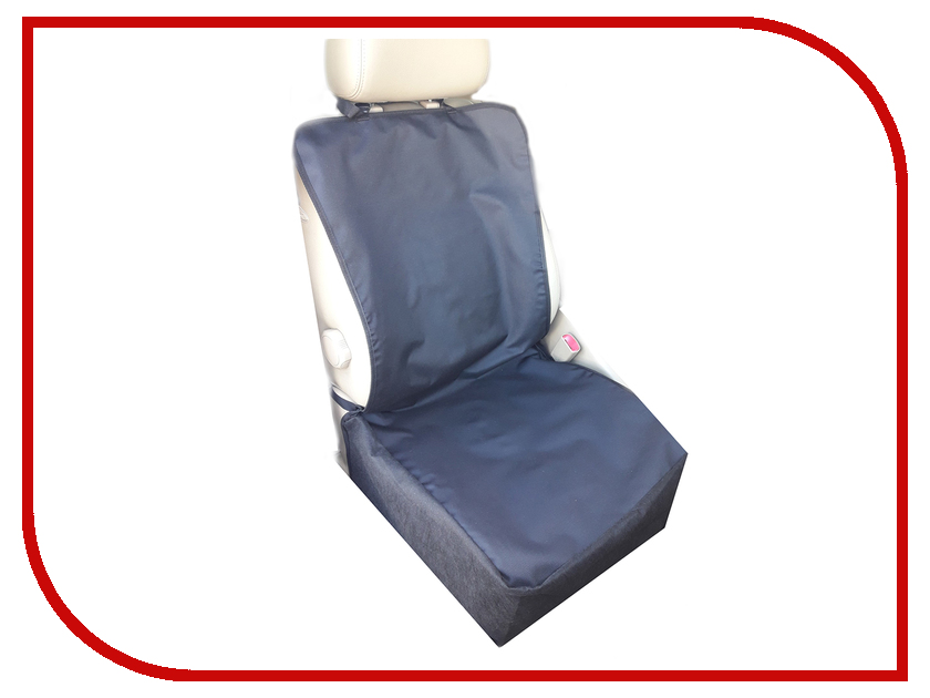 Аксессуар AvtoPoryadok Защитная накидка для перевозки животных на переднее сиденье Black S17300Bl