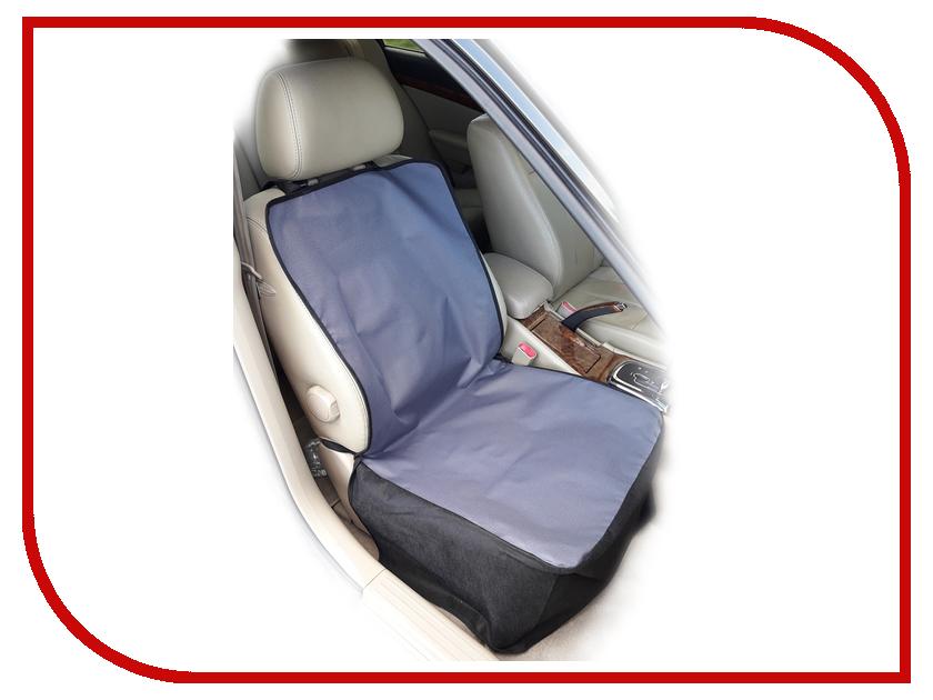 Аксессуар AvtoPoryadok Защитная накидка для перевозки животных на переднее сиденье Grey S17301Gr