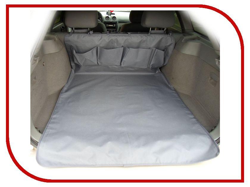 Органайзер AvtoPoryadok Защитная накидка в багажник с карманами Grey B17201Gr