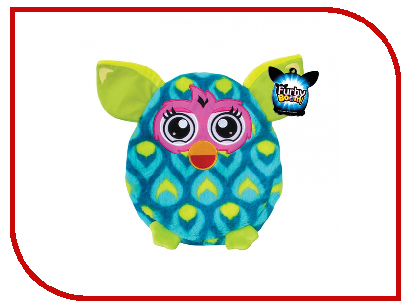 Игрушка 1Toy Подушка Furby павлин Т57471 furby рюкзак 35 см в полоску 1toy