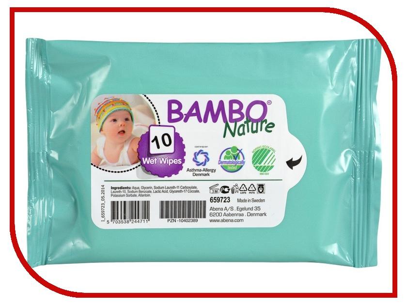 Салфетки Bambo Nature без отдушек №10 659723