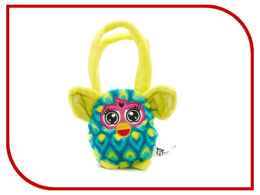 Игра 1Toy Сумочка Furby павлин Т57554 furby сумочка 12 см павлин 1toy
