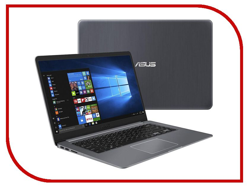 Ноутбук ASUS VivoBook S15 S510UA-BR478T 90NB0FQ5-M07470 (Intel Core i3-7100U 2.4 GHz/6144Mb/1000Gb/No ODD/Intel HD Graphics/Wi-Fi/Bluetooth/Cam/15.6/1920x1080/Windows 10 64-bit) адаптер wi fi upvel ua 371ac arctic white ua 371ac arctic white