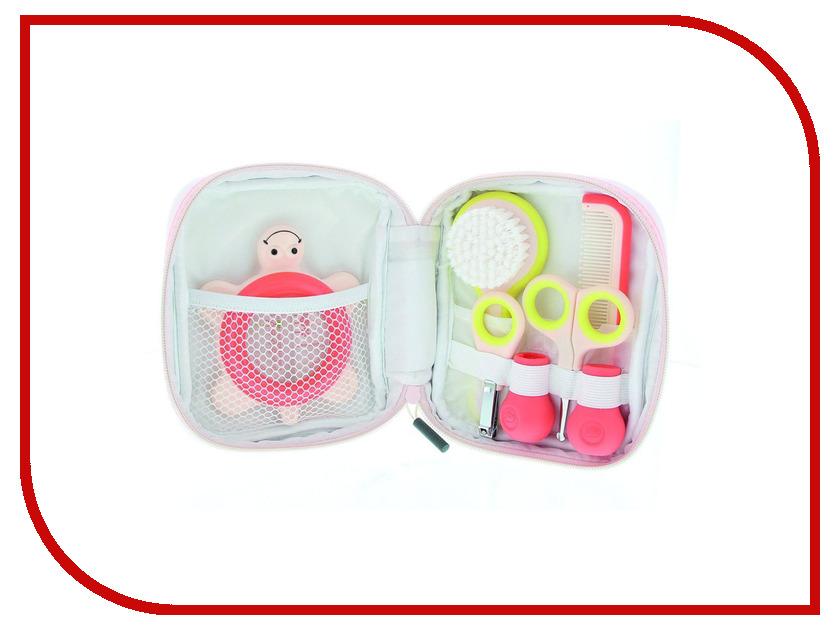 bebe confort ванночка эргономичной формы Детские ножницы Bebe Confort Набор аксессуаров по уходу за малышом Light Pink-White 32000249