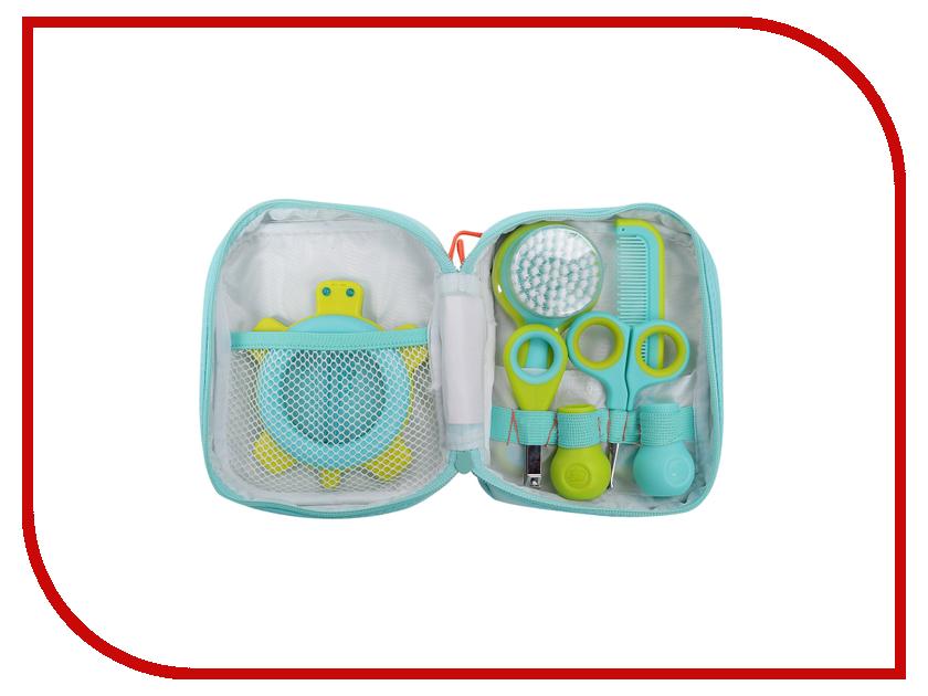 Детские ножницы Bebe Confort Набор аксессуаров по уходу за малышом Light Blue-White 32000248 bebe confort шлем мягкий защитный