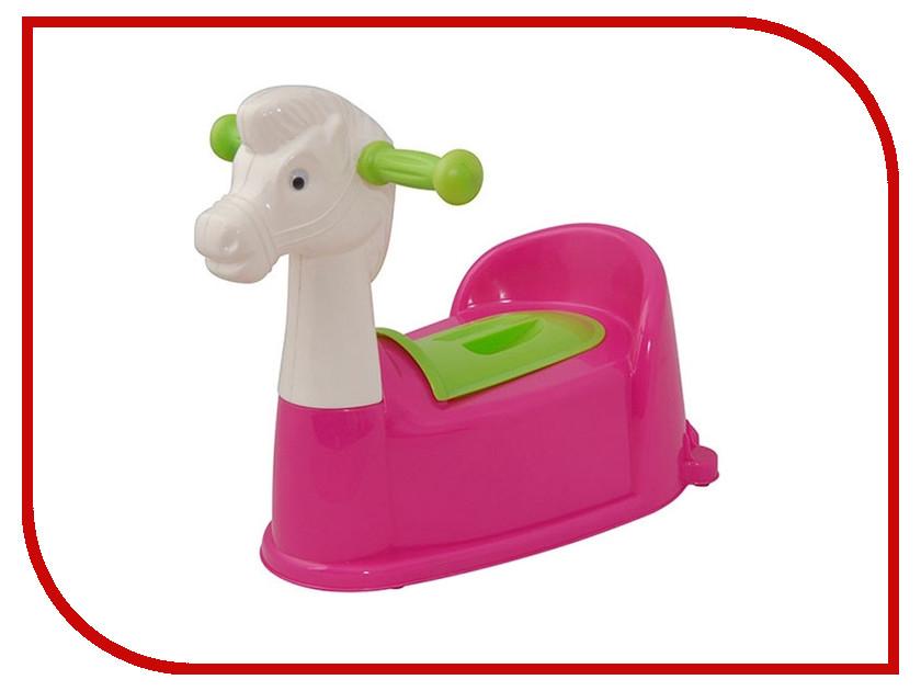 Горшок Pilsan Horse Pink 07-532
