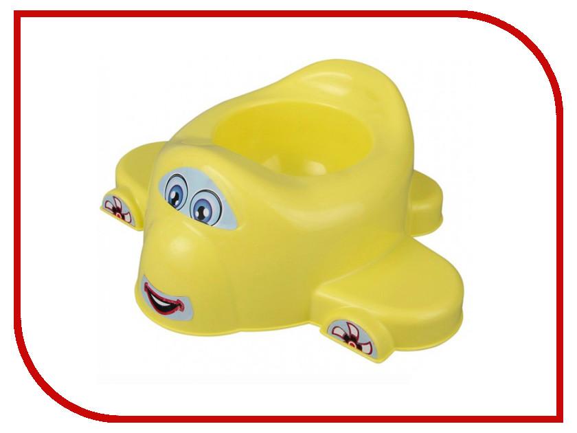 Горшок Pilsan Airplane Yellow 07-516