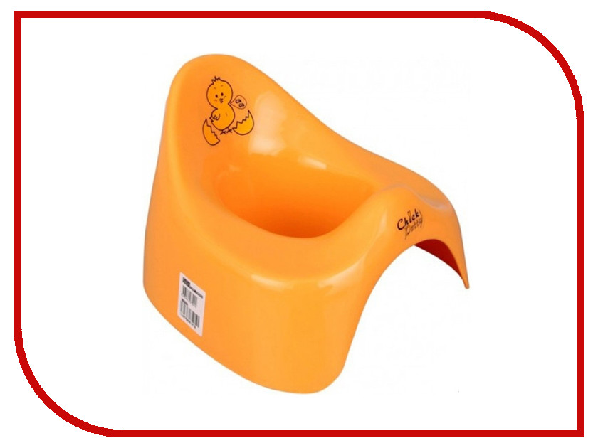 Горшок Pilsan Chick Orange 07-509 natali kovaltseva люстра на штанге natali kovaltseva friendly 75088 3c chrome 40861