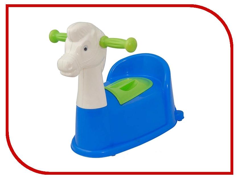 Горшок Pilsan Horse Blue 07-532