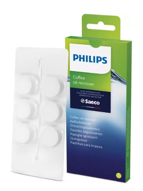 Таблетки для удаления кофейного масла Philips Saeco CA6704 philips saeco hd 8946