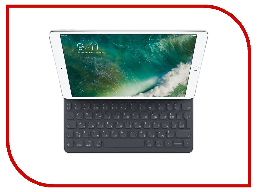 Аксессуар Клавиатура APPLE Smart Keyboard для iPad Pro 10.5-inch MPTL2RS/A us layout keyboard for macbook pro 13 inch white us keyboard a1342 keyboard