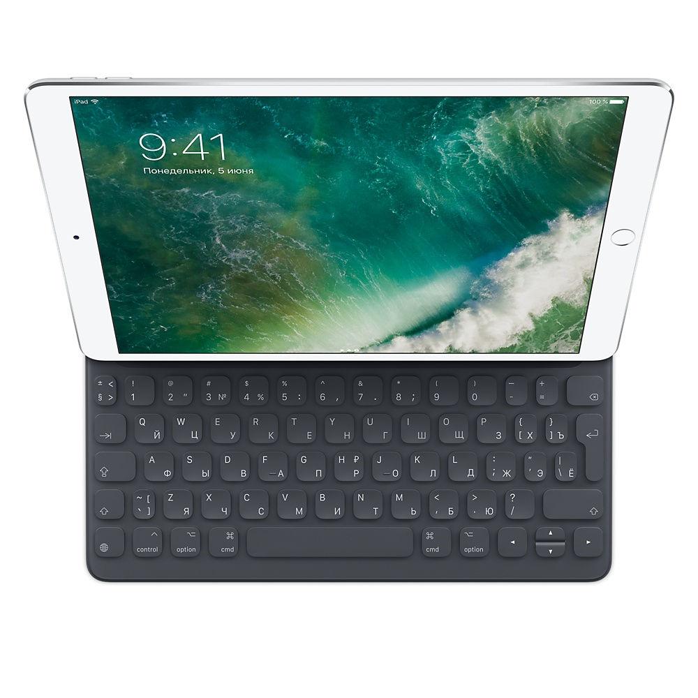 Аксессуар Клавиатура для APPLE Smart Keyboard для iPad Pro 10.5-inch MPTL2RS/A клавиатура apple magic keyboard mla22ru a