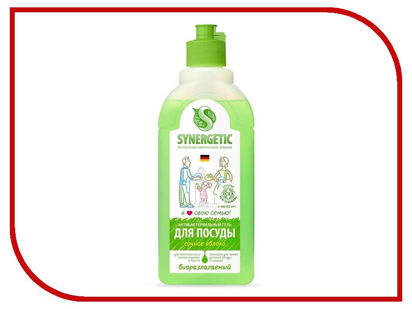 Средство для мытья посуды Synergetic Яблоко 0.5L 4623721671449