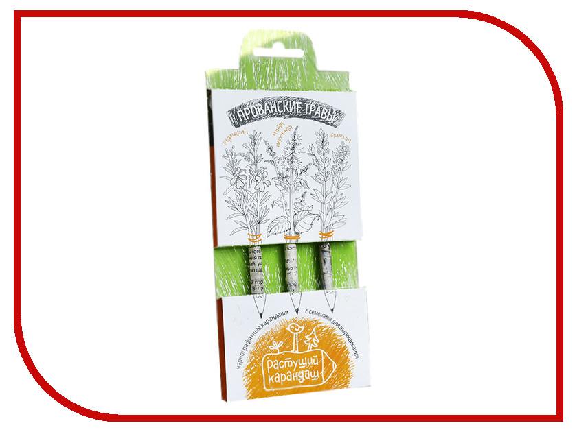 Растение Растущий карандаш Прованские травы чернографитные 3шт RK-01-03-07