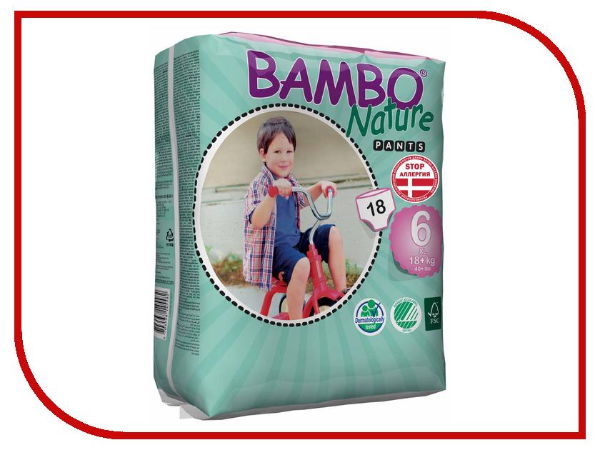 Подгузники Bambo Nature Трусики XL Plus 18+кг 18шт 310139 а коркунов ассорти конфеты молочный шоколад 137 г