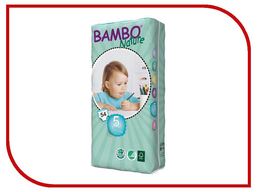 Подгузники Bambo Nature Junior 12-22кг 54шт 310145 подгузники bambo nature junior 12 22кг 54шт 310145