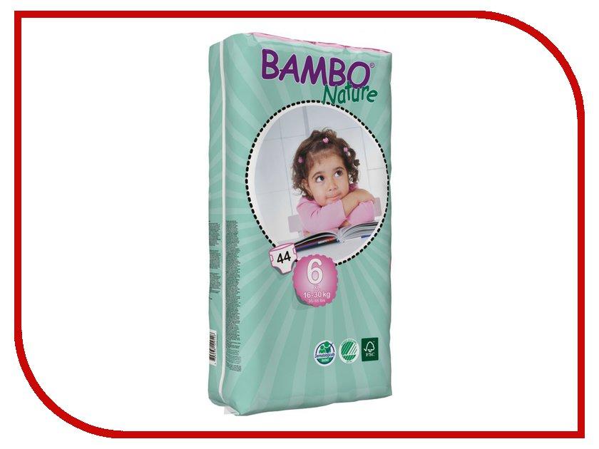 Подгузники Bambo Nature XL 16-30кг 44шт 310146
