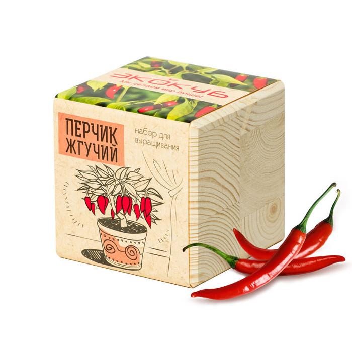 цена на Растение Экокуб Перчик ECB-01-12