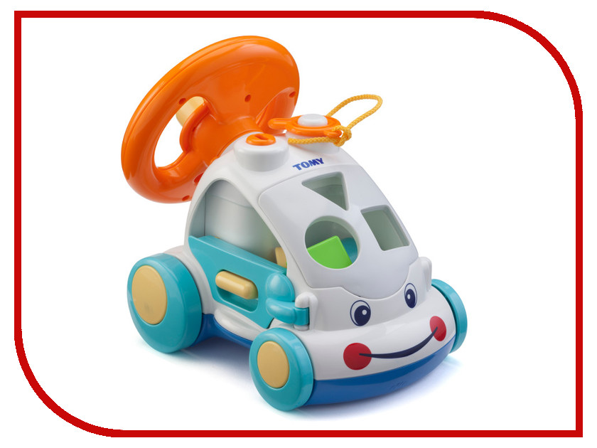 Сортер Tomy Интерактивный автомобиль E71987 tomy интерактивный щенок погуляй со мной