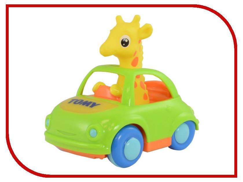 Машина Tomy Веселый жираф водитель E72201 tomy bath друзья дельфины e6528