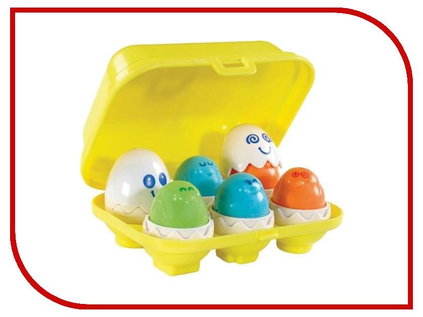 Сортер Tomy Веселые Яйца E1581 / ТО1581 сортер жирафики веселые животные 939416