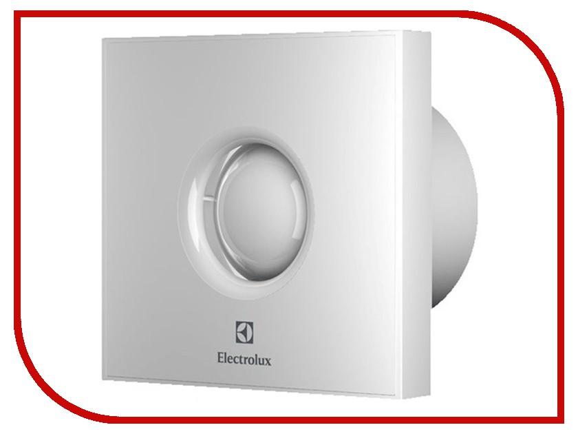 Вытяжной вентилятор Electrolux Rainbow EAFR-100TH с таймером и гигростатом White вытяжной вентилятор electrolux eafr 150 mirror