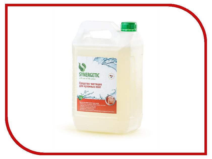 Чистящее средство Synergetic Для плит 5L 4613720439010 synergetic средство для чистки кухонных плит synergetic 500 мл