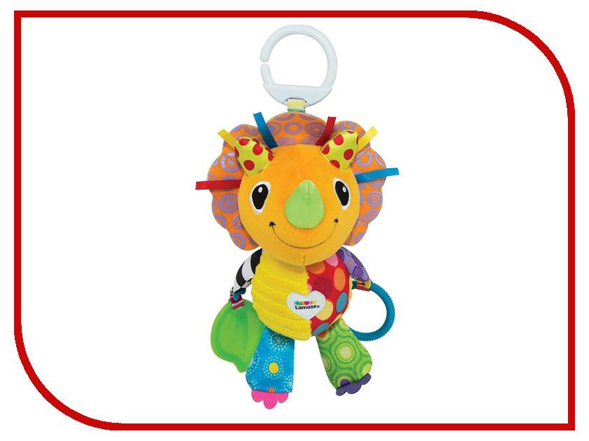 Игрушка Tomy Lamaze Динозаврик Дино L27575 tomy игрушка с присоской на стульчике веселые утята tomy lamaze