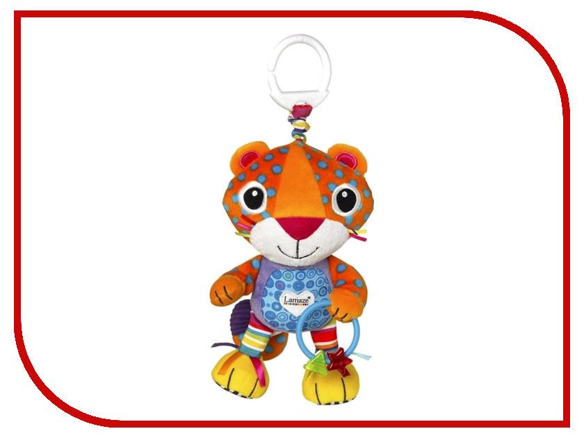 Игрушка Tomy Lamaze Леопардик Мурр L27563 tomy игрушка с присоской на стульчике веселые утята tomy lamaze