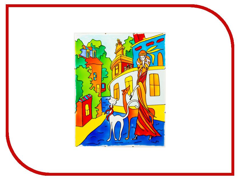 Набор Искусство витража Витражная картина Прогулка сказочная прогулка раскраска