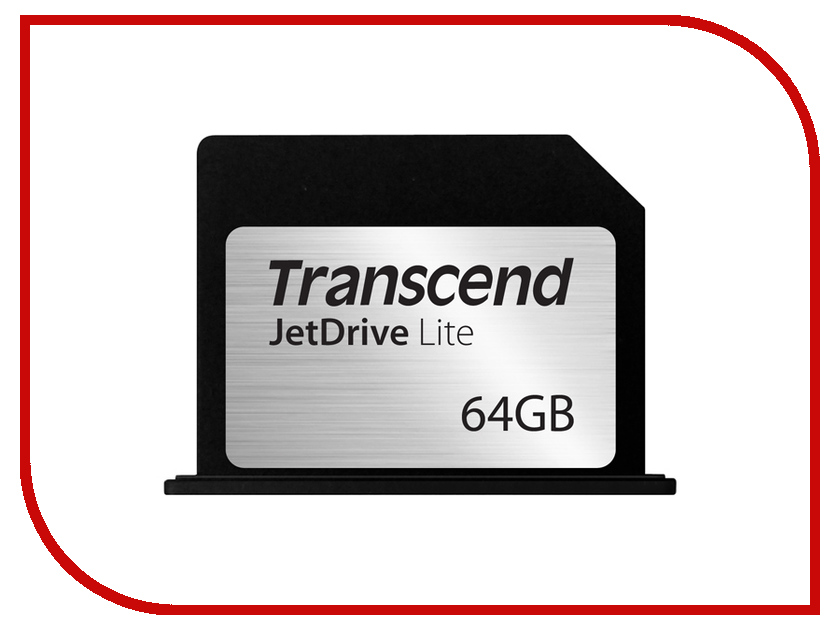 Карта памяти 64Gb - Transcend JetDrive Lite 330 TS64GJDL330 для MacBook Pro Retina 13
