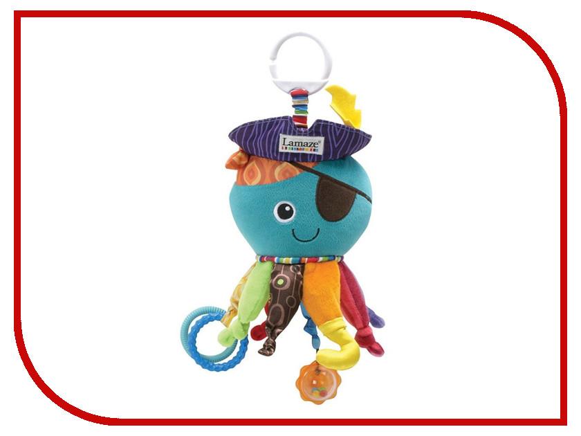 Игрушка Tomy Lamaze Капитан Кальмар LC27068 tomy игрушка с присоской на стульчике веселые утята tomy lamaze