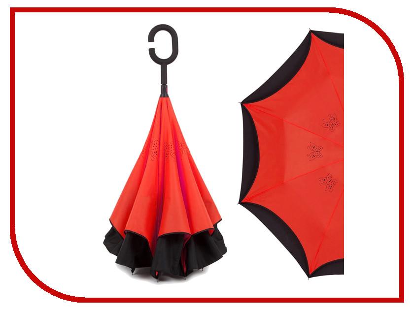 Зонт Зонт Наоборот Butterfly Red
