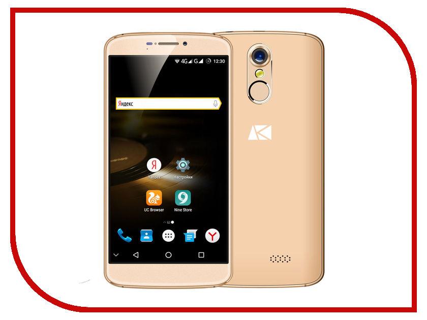 Сотовый телефон Ark Phantom 1 Gold сотовый телефон ark benefit u3 grey