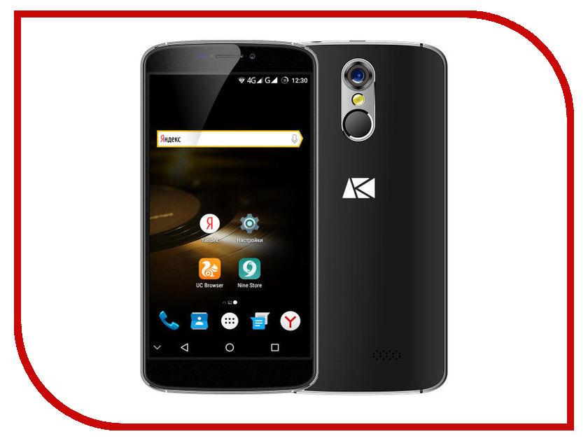 Сотовый телефон Ark Phantom Black сотовый телефон acer liquid zest z525 black