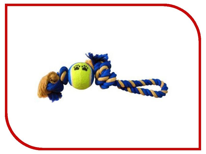 Игрушка Fauna International FIRT-0017 Канат с мячом 35cm для собак 52016