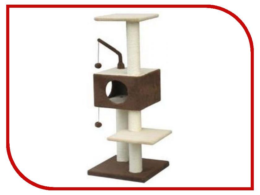 Место для отдыха Fauna International FICP-2222-2302 Revizo 45x45x121cm для кошек Brown Beige 35417